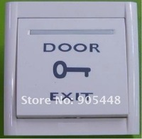 Кнопочный переключатель Top Quality New Fire Exit Push Button Panel Switch for Electric Door Strike NO/NC Type with Screw Shippment