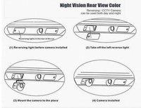 Wireless SONY CCD Car Rear View Reverse Mirror Image CAMERA for Citroen C4/C5/C-Triomphe/C-Quatre,Peugeot 307/307CC/308CC/1007