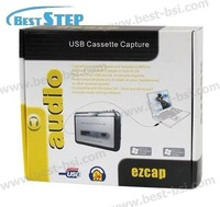 Кассетный плеер USB Cassette Converter Capture to Music MP3 CD Player PC; Support Cassette to mp3 and tape to CD, save your loved song