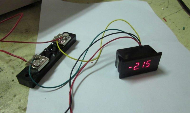 12vdc 50a Ammeter - Buy Small 12v Ammeter,Micro Ammeter,Mini 10a 20a ...