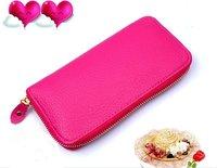 women's  envelope clutch bag long leather Wallet Ladies designer Purse Checkbook Handbag drop shopping