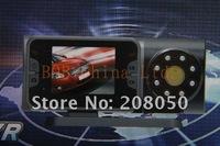 Автомобильный видеорегистратор dvr car, portable dvr HD720P with 120degree view angle+8IR LED H190