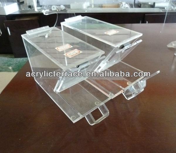 stackable acrylic food bins,acrylic candy bin,acrylic bulk bins