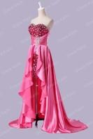 Грейс Карин Элегантный Милая вне плечо рукавов платье давно короткие передние знаменитости платья партии платье cl6012