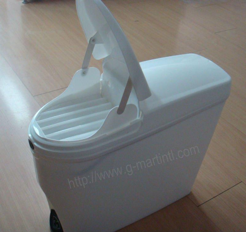 20L Plastic Feminine Toilet-use Automatic Sanitary Bin