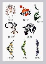 Tattoo Stencils book Template