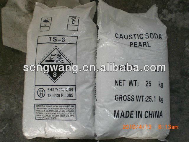 Caustic Soda 99% Flakes/ Pearls/Solid/Liquid