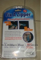 Замок для одежды 240pcs/lot Fix Broken Zippers As Seen On TV Magic Fix Any Zipper Quickly Instant Zipper Sliders