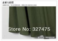 Женское платье Fashion Elegant Shoulder Flower Neckline Inlaid Chain Set Of Two Big Skirt Dress