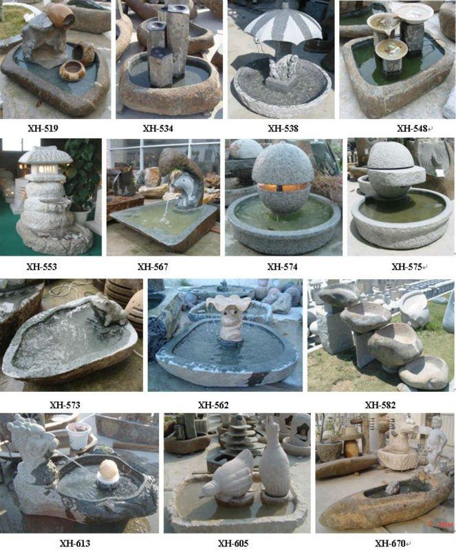 Cantera de piedra fuentes fuente de interior de dise o - Fuentes de interior decorativas ...