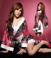 Сексуальная ночная сорочка abydoll Japanese kimono / hotel sauna KTV stage clothes women kimono Christmas day Sexy
