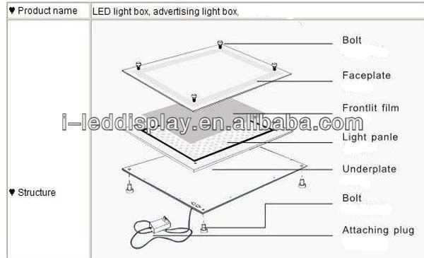 Acrylic LED Light Frame