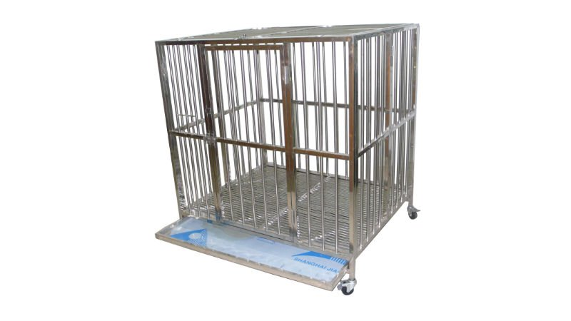 stainless steel dog kennels cage in 4 sizes