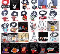 Sale Mix Styles 12pcs/lot Good Wood Jewelry Hiphop acrylic Necklace