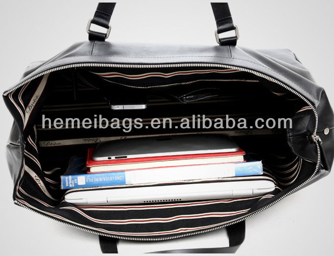 Leather Travelling bag&Hiking bike luggage bag China mnufacturer