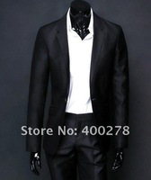 Free Shipping Men's  Suit Jacket  wedding Wool business suit High-grade fabrics Formal suit Plus size