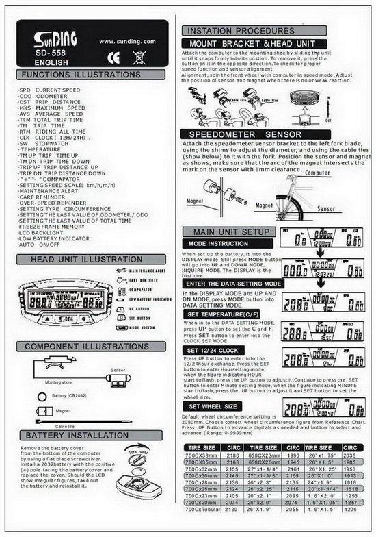 Инструкция К Вело Компютеру Digi-X5