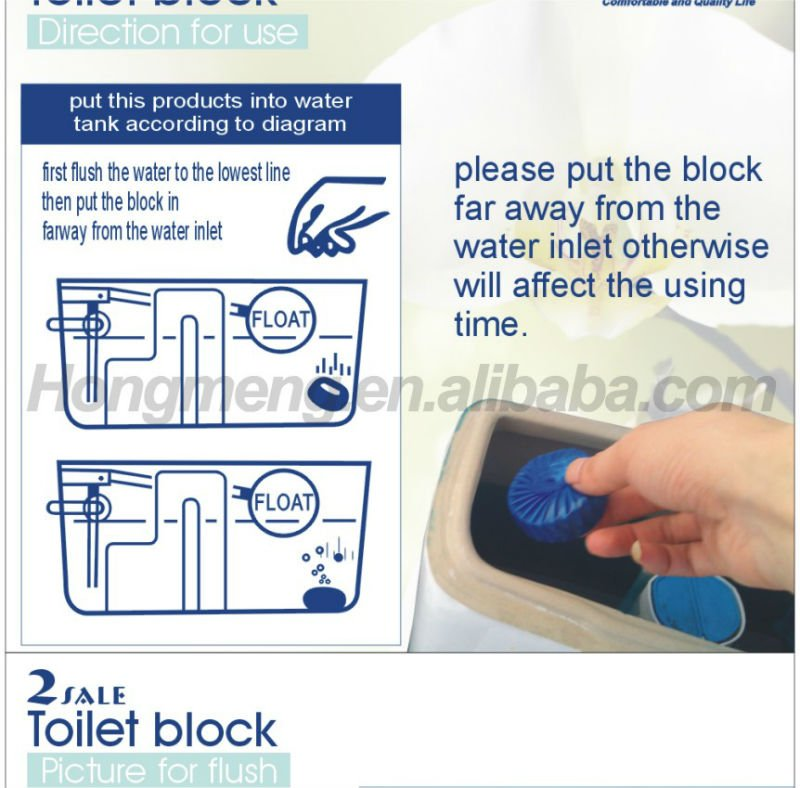InCistern Blue Eco Toilet Block Cleaner