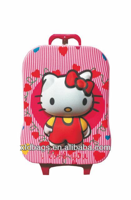 2013 high quality EVA mini trolley travel bag
