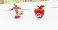 Серьги-гвоздики 12$ Apple ES0075