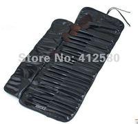 Кисти для макияжа 24 PCS Professional Makeup Cosmetic Brush Set Kit With Soft Leather Bag