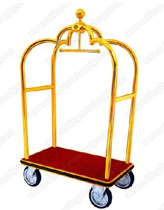 hotel luggage trolley hot sale