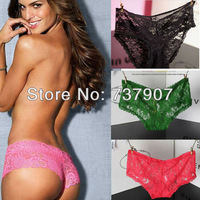 Женские трусики 4 Different Colors Best Quality Victoria VS pink Panty Underwear lady's Sexy Underwear Lace cotton panties