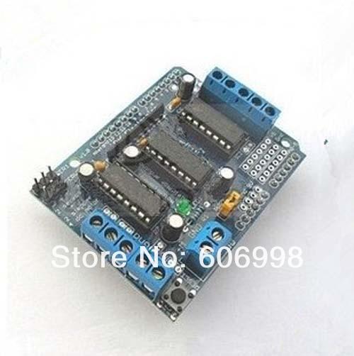 2 шт./лот управления двигателем щит для Arduino L293D доска ...