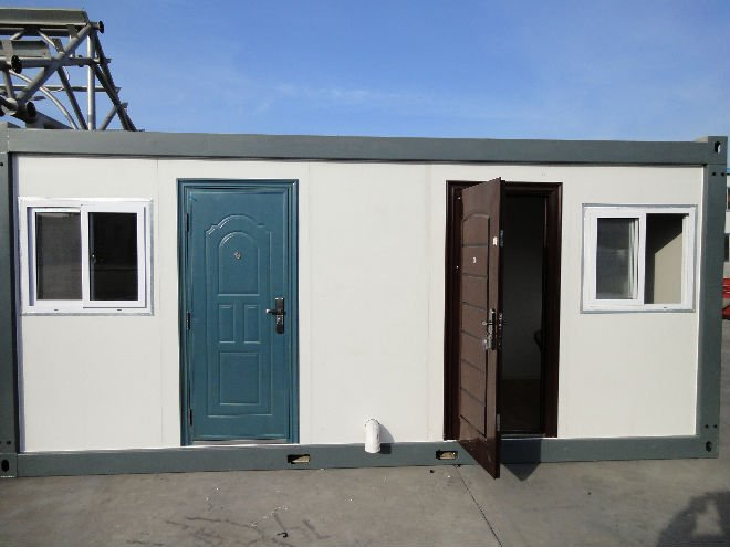 fabricated container house,20ft contianer house ,flat pack contianer house