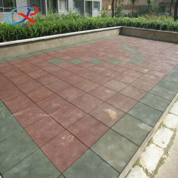 Rubber Roof Tiles For Playground  Buy Outdoor Rubber Tiles,Rubber