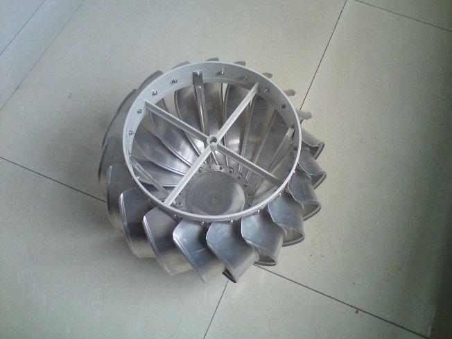Ротационная турбина на дымоход своими руками