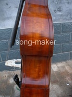 3/4 New Double Bass Powerful Sound Ebony Part High quality Low Price #3