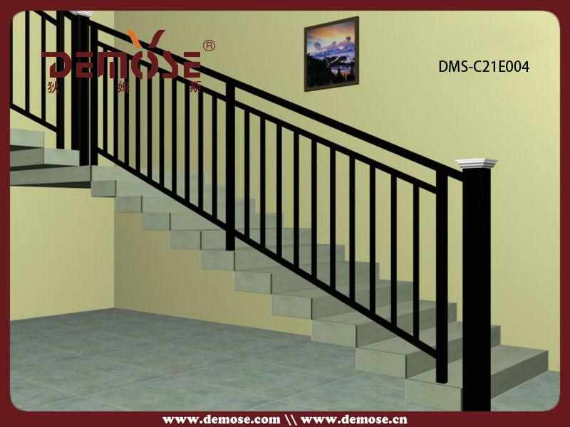barato pasamanos de aluminio fundido para escaleras interiores