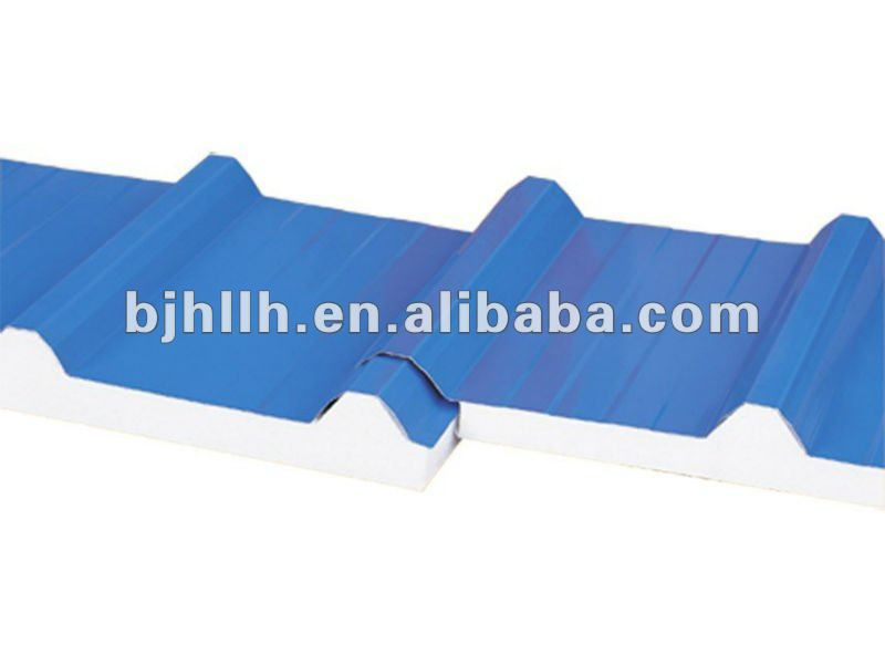 Seamless Connection EPS Sandwich Panels with Great Drainage Capacity