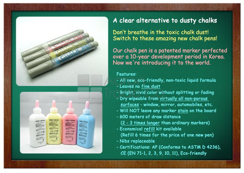 Whiteboard marker - new, unique liquid formula
