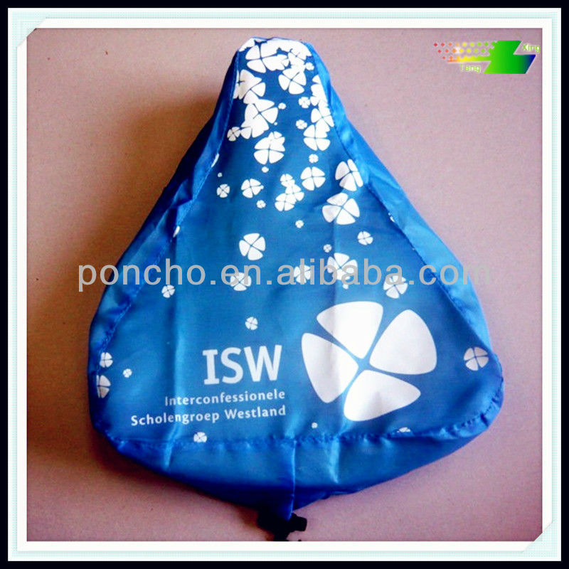 promotion pvc saddle cover with imprint for bike