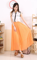 Женская юбка 2014 pleated skirt | Women skirt mopping the floor skirt
