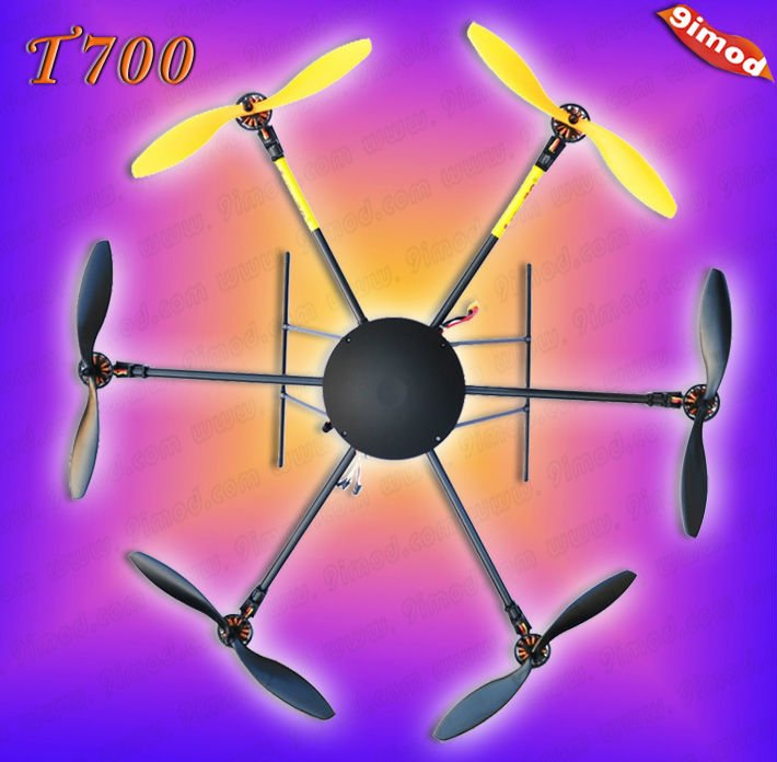 New!Lotus RC T700 2.4G Flying UFO with High Performance