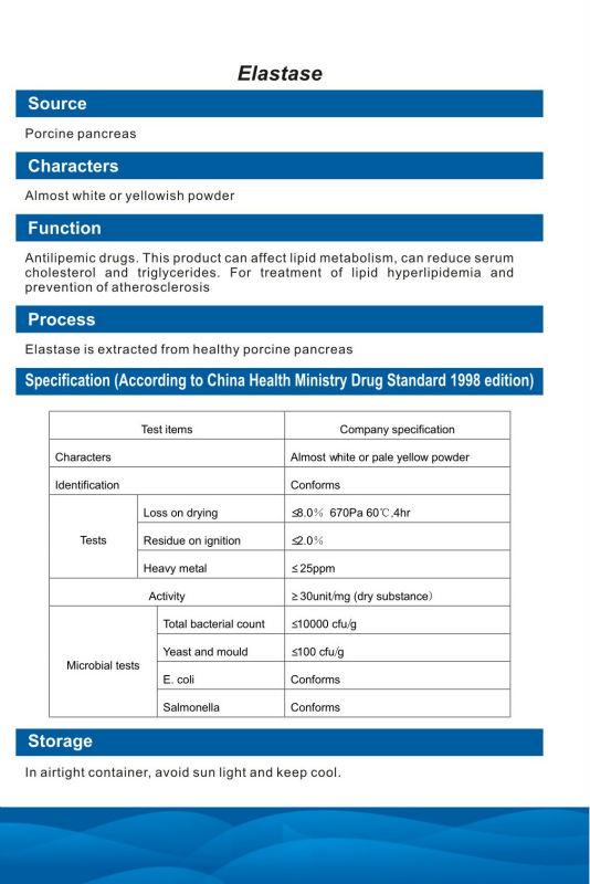 Elastase CAS 9004-06-2