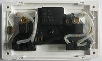 MGA a8 серии британского розетка с переключатель, высококачественного белого pc, ультра-тонкий плоский, 147 мм розетка с выключателем