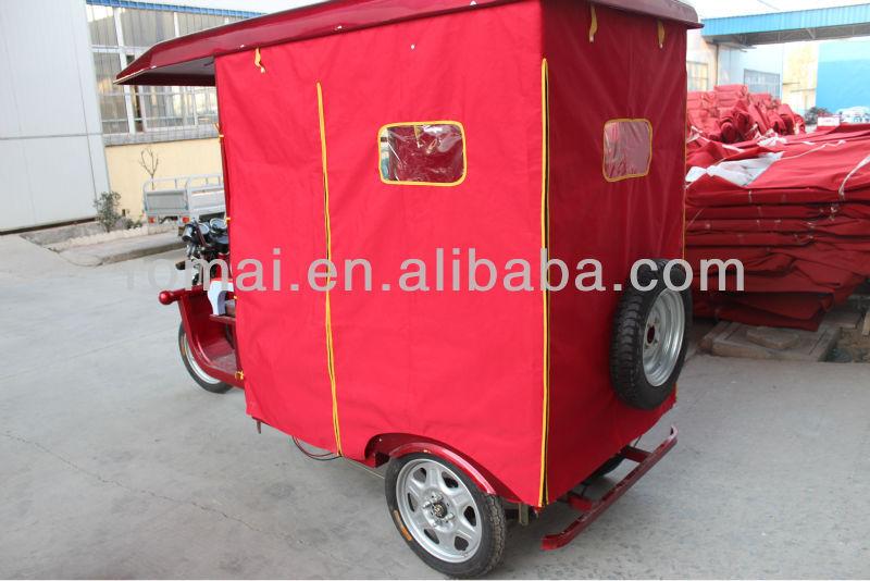 2014 hot selling fiber roof three wheel motorcycle tuk tuk passenger for pakistan on alibaba website