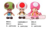 Фигурка героя мультфильма Retail 3pcs/set Super Mario Bros Luigi Mario Action Figures Toys Doll[CWZ0429
