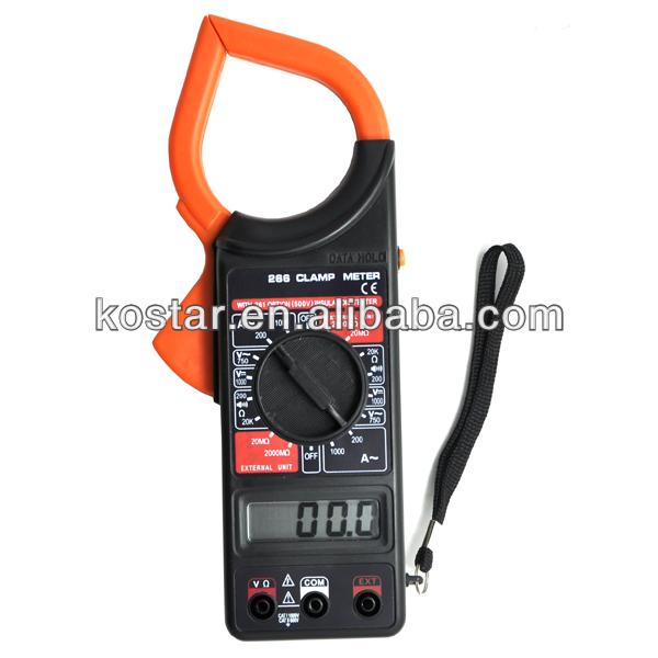 DT-266 Alicate Amperimetro Digital Clamp Meter 266 clamp meter