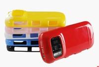 Чехол для для мобильных телефонов 1pcs high quality soft slicon case for nokia 808 case