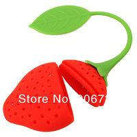Ситечко- шарик для заваривания чая New Lovely Strawberry Design Silicone Tea Infuser Strainer for Teapot, Teacup on Promoton
