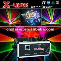 Освещения для сцены 10W RGB Full color laser light / Hot selling laser with CE, ROHS