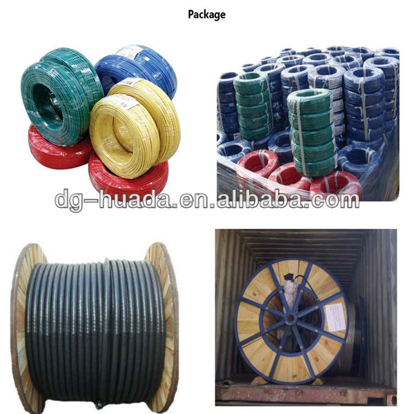 3 core flexible low voltage cable