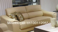 Yellow cowhide leather sofa sofa factory outlets in Guangdong Foshan City Shunde sofa factory outlets