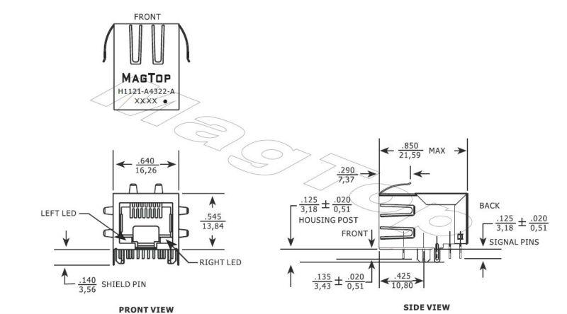 haute qualité prix usine RJ45 jack