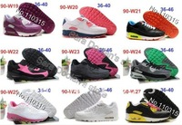 Женские кроссовки Quality Women 90 Sport Shoes running shoes Women Max New Deisgn Shoe Lady Brand Unisex Shoes air with box tag